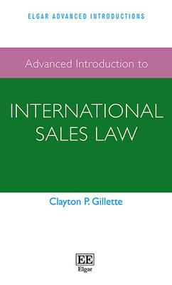 Advanced Introduction to International Sales Law (BOK)