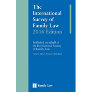 International Survey of Family Law 2016 Edition (BOK)