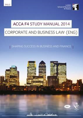 ACCA F4 Corporate and Business Law (Eng) Study Manual (BOK)