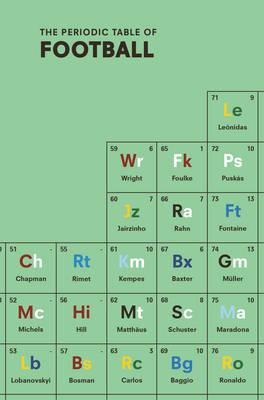 Periodic Table of FOOTBALL (BOK)
