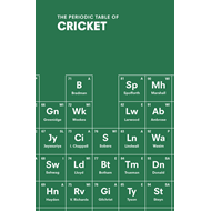 Periodic Table of CRICKET (BOK)