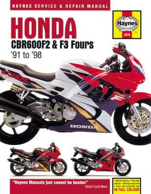Honda CBR600F2 & F3 Fours Motorcycle Repair Manual (BOK)