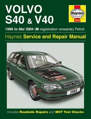 Volvo S40 & V40 (Petrol) Owner's Workshop Manual (BOK)
