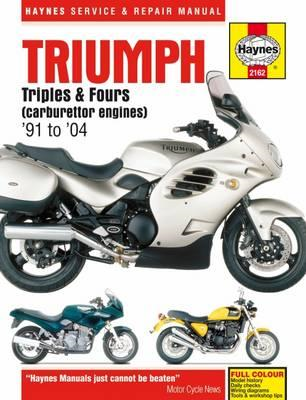 Triumph Triples & Fours Motorcycle Repair Manual (BOK)