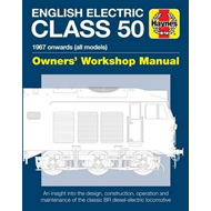English Electric Class 50 Diesel Locomotive Manual (BOK)