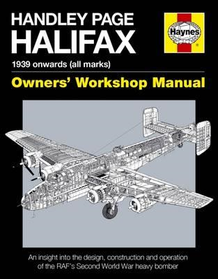 Handley Page Halifax Manual 1939-52 (All Marks) (BOK)
