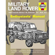 Military Land Rover 1948 Onwards (Series I-III, Defender, '1 (BOK)