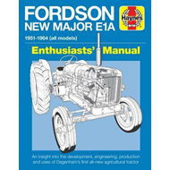 Fordson New Major E1A Enthusiasts' Manual (BOK)