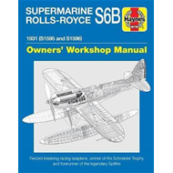 Produktbilde for Supermarine Rolls-Royce S6B Owners' Workshop Manual (BOK)