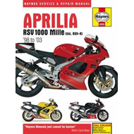 Aprilia RSV100 Mille Motorcycle Repair Manual (BOK)
