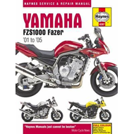 Yamaha FZS1000 Fazer Motorcycle Repair Manual (BOK)
