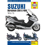 Suzuki Burgman 250 & 400 Service & Repair Manual (BOK)