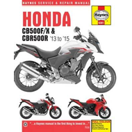 Honda CB500F/X & CBR500R Service and Repair Manual (BOK)