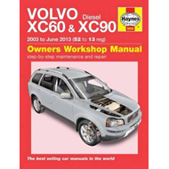 Volvo XV60 & 90 Owners Workshop Manual (BOK)