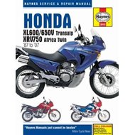 Honda XL600/650 Motorcycle Repair Manual (BOK)