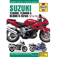 Suzuki TL1000 Motorcycle Repair Manual (BOK)