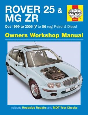 Rover 25 & MG ZR Owners Workshop Manual (BOK)