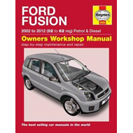 Ford Fusion Owners Workshop Manual (BOK)