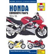 Honda CBR600 F4 Motorcycle Service and Repair Manual (BOK)