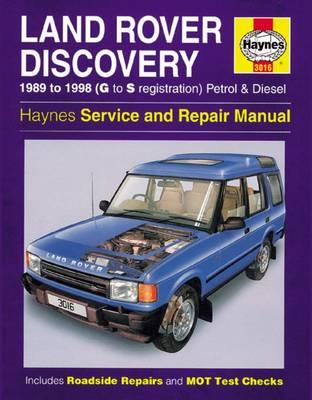 Land Rover Discovery Petrol And Diesel (BOK)