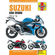 Suzuki GSX-R1000 Service and Repair Manual 2009-2016 (BOK)