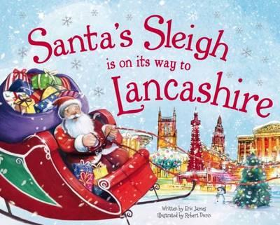 Santa's Sleigh is on it's Way to Lancashire (BOK)