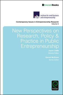New Perspectives on Research, Policy & Practice in Public En (BOK)