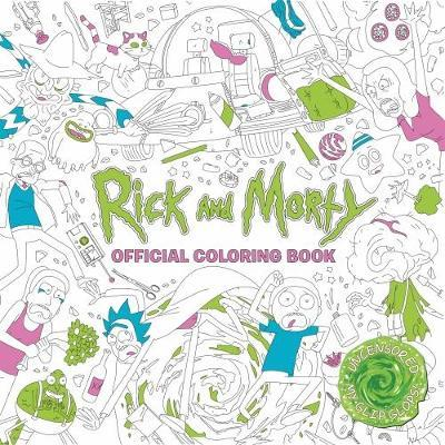 Rick and Morty Official Coloring Book (BOK)