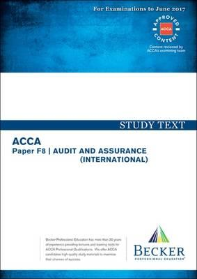 ACCA Approved - F8 Audit and Assurance (BOK)