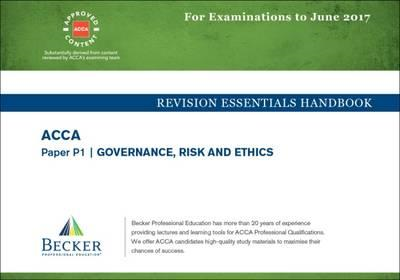 ACCA Approved - P1 Governance, Risk and Ethics (BOK)