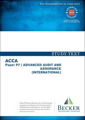 ACCA Approved - P7 Advanced Audit and Assurance (BOK)