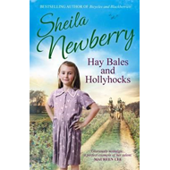 Hay Bales and Hollyhocks (BOK)