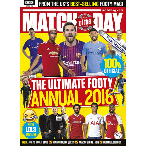 Match of the Day Annual 2018 (BOK)