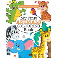 My First Animals Colouring Book ( Crazy Colouring for Kids) (BOK)