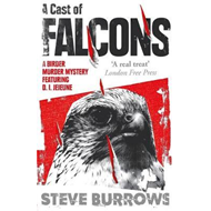 Produktbilde for A Cast of Falcons - A Birder Murder Mystery (BOK)