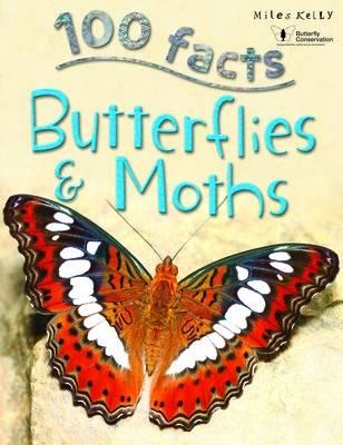 100 Facts Butterflies & Moths (BOK)