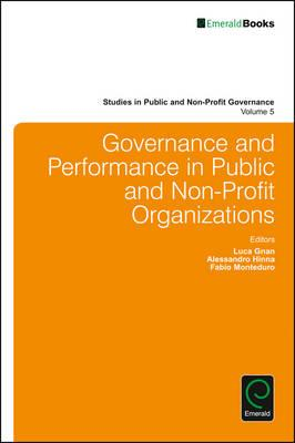 Governance and Performance in Public and Non-Profit Organiza (BOK)