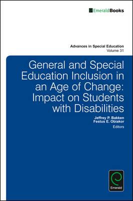 General and Special Education Inclusion in an Age of Change (BOK)