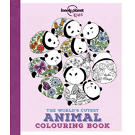 Lonely Planet the World's Cutest Animal Colouring Book (BOK)