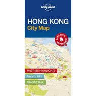Lonely Planet Hong Kong City Map (BOK)