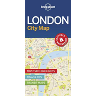 Lonely Planet London City Map (BOK)