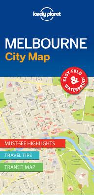 Lonely Planet Melbourne City Map (BOK)