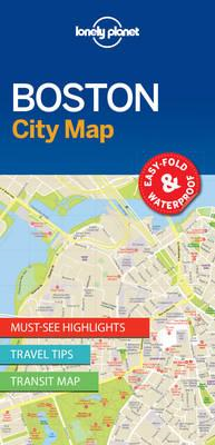 Lonely Planet Boston City Map (BOK)