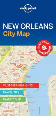Lonely Planet New Orleans City Map (BOK)