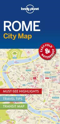 Lonely Planet Rome City Map (BOK)