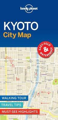 Lonely Planet Kyoto City Map (BOK)