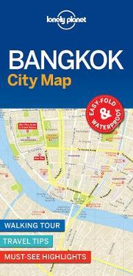 Lonely Planet Bangkok City Map (BOK)