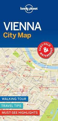 Lonely Planet Vienna City Map (BOK)