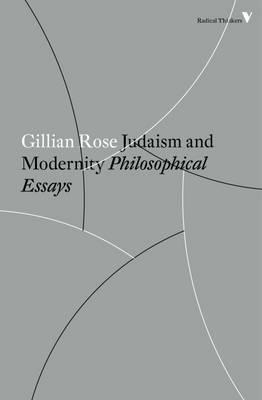 Judaism and Modernity (BOK)