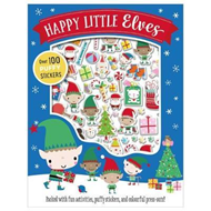 Happy Little Elves Puffy Sticker Activity (BOK)